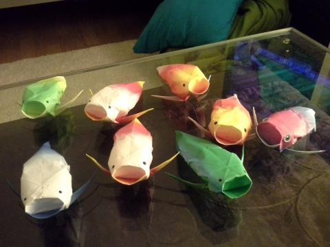 Origami Koi Folding Instructions Koi