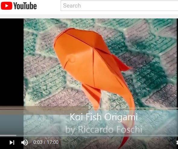 More Advanced Origami Koi Koi